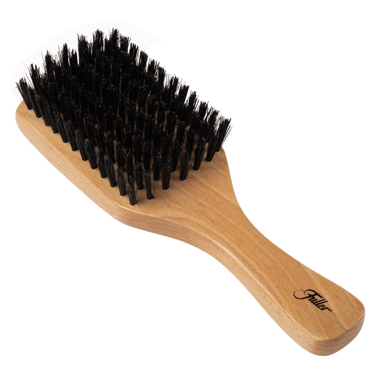 Beech Wood Club Hairbrush W/Natural Boars Hair Bristles Unique Wood Pattern-Hair Brushes-Fuller Brush Company