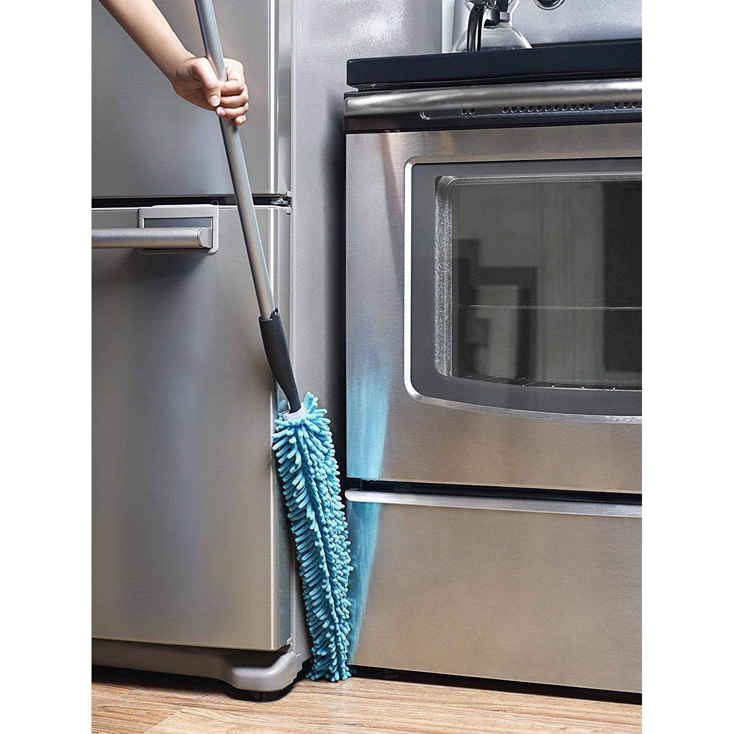 Bendable Microfiber Duster With Microfiber Fingers and Handle-Duster-Fuller Brush Company