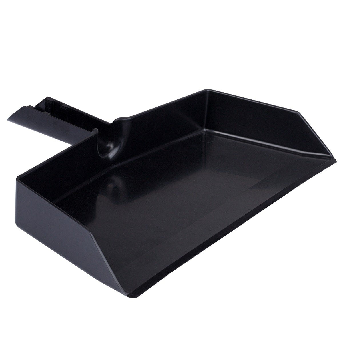Black Plastic Dustpan, Wide Sweep, Handheld Easy Grip Handle w/ Clip-on-Dustpans-Fuller Brush Company