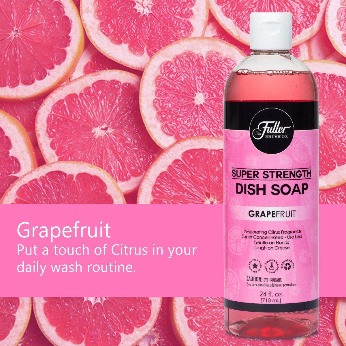 Dish Soap Super Strength – Inviting Grapefruit Scent-Cleaning Agents-Fuller Brush Company
