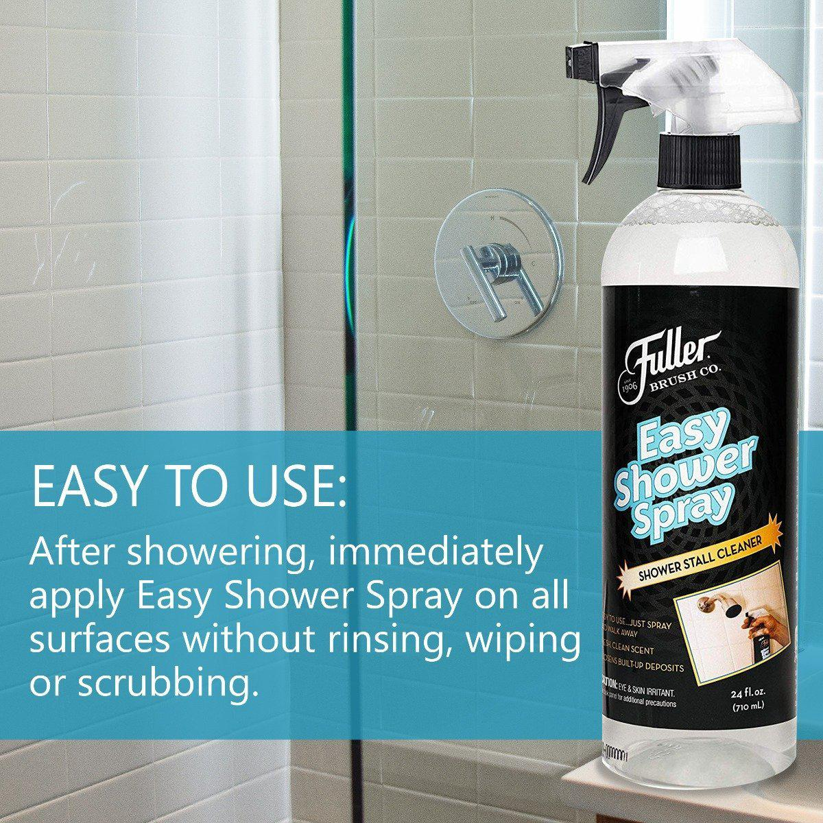 Easy Shower Spray - 24 oz - No Rinse & Scrub Daily Bathroom Cleaner-Cleaning Agents-Fuller Brush Company
