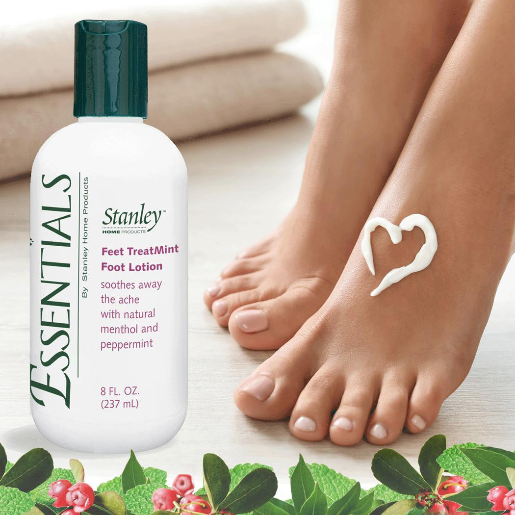 Essentials Feet TreatMint Foot Lotion - Moisturizing Foot Cream w/ Cooling Oils-Foot Care-Fuller Brush Company
