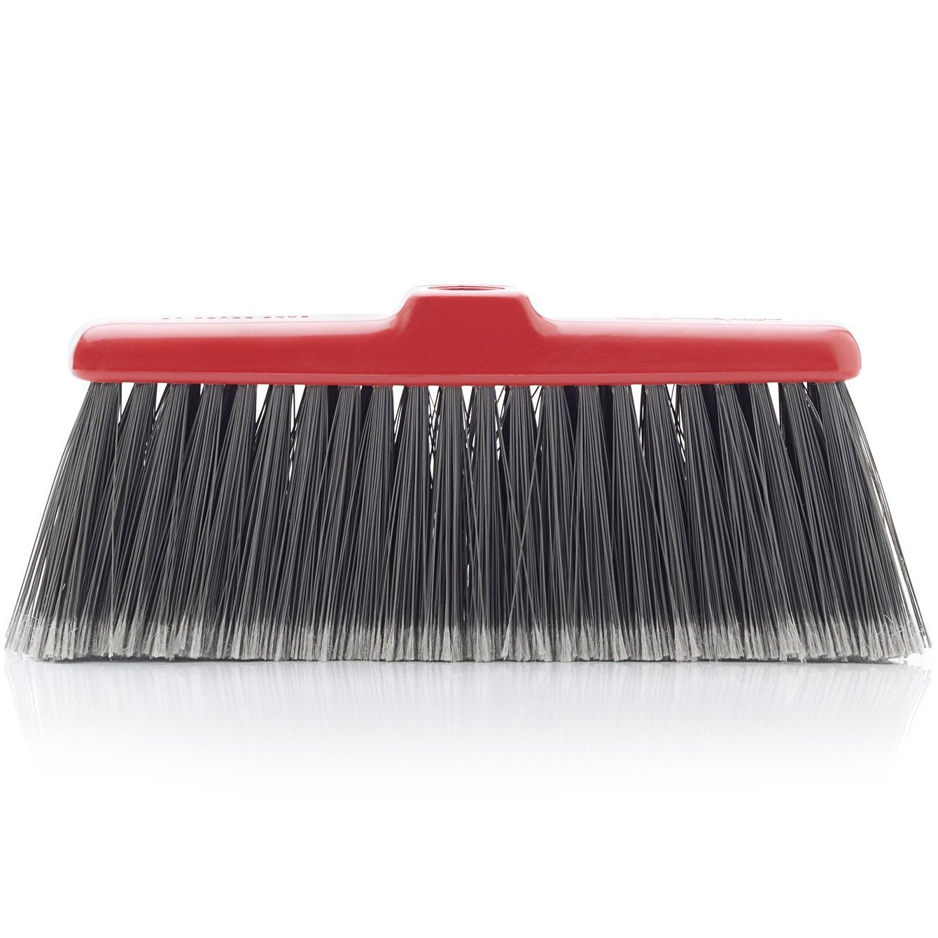 Fiesta Red Heavy Duty Long Bristle Broom Head - Fine Bristles Floor Sweeper-Brooms-Fuller Brush Company
