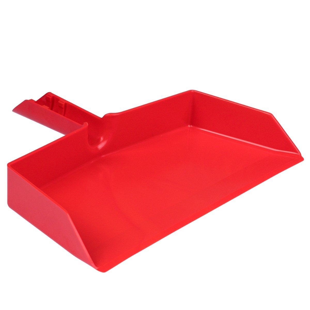 Fiesta Red Plastic Dustpan, Wide Sweep, Handheld Easy Grip Handle w/ Clip-on-Dustpans-Fuller Brush Company