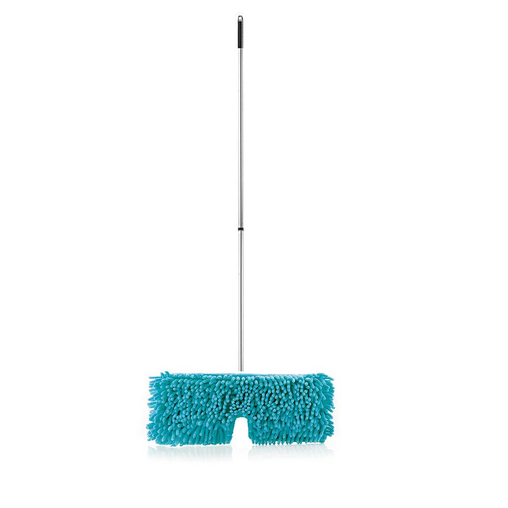 Flip Mop Head W/ Full Connect (Turquoise) and Adjustable Telescopic Handle-Mops-Fuller Brush Company