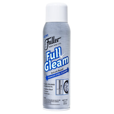 Full Gleam Stainless Steel Cleaner Spray and Polish - Cleans & Protects-Cleaning Agents-Fuller Brush Company