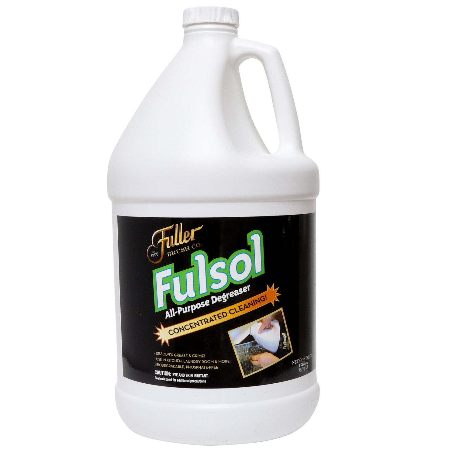 Fulsol Degreaser - All Purpose Oil, Grease & Grime Cleaner for Multi-Surface Cleaning-Degreasers-Fuller Brush Company