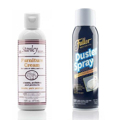 Furniture Liquid Cream & Duster Spray Pack-Polishes-Fuller Brush Company