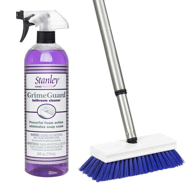 GrimeGuard Bathroom Cleaner + Tub & Shower E-Z Scrubber-Cleaning Agents-Fuller Brush Company