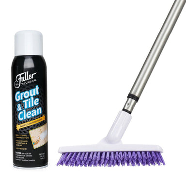 Grout & Tile Clean + Grout Brush-Cleaning Agents-Fuller Brush Company