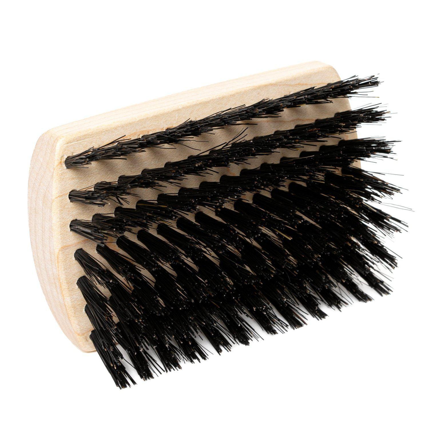 Hair & Beard Brush w/ Maple block and Natural Boars Hair Bristles - Pocket Size-Hair Brushes-Fuller Brush Company