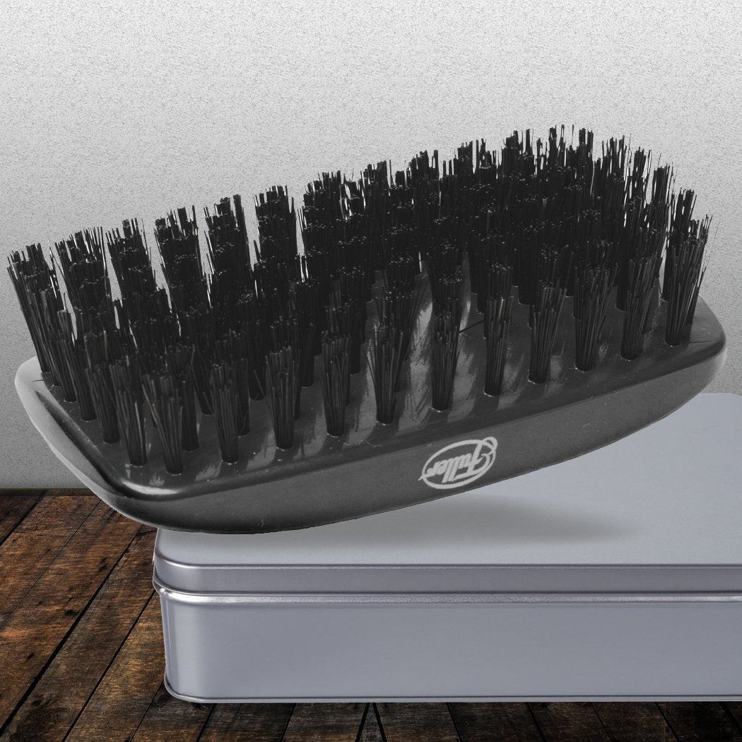 Heirloom Quality Military Hairbrush With Genuine Natural Boars Bristles - Graphite Gray-Hair Brushes-Fuller Brush Company
