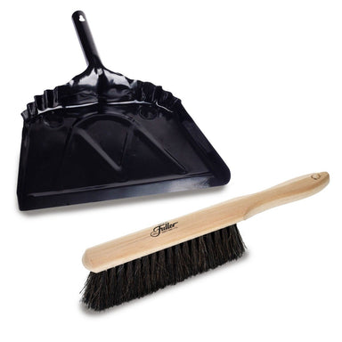 Horsehair Bench Brush + Metal Dustpan-Cleaning Brushes-Fuller Brush Company