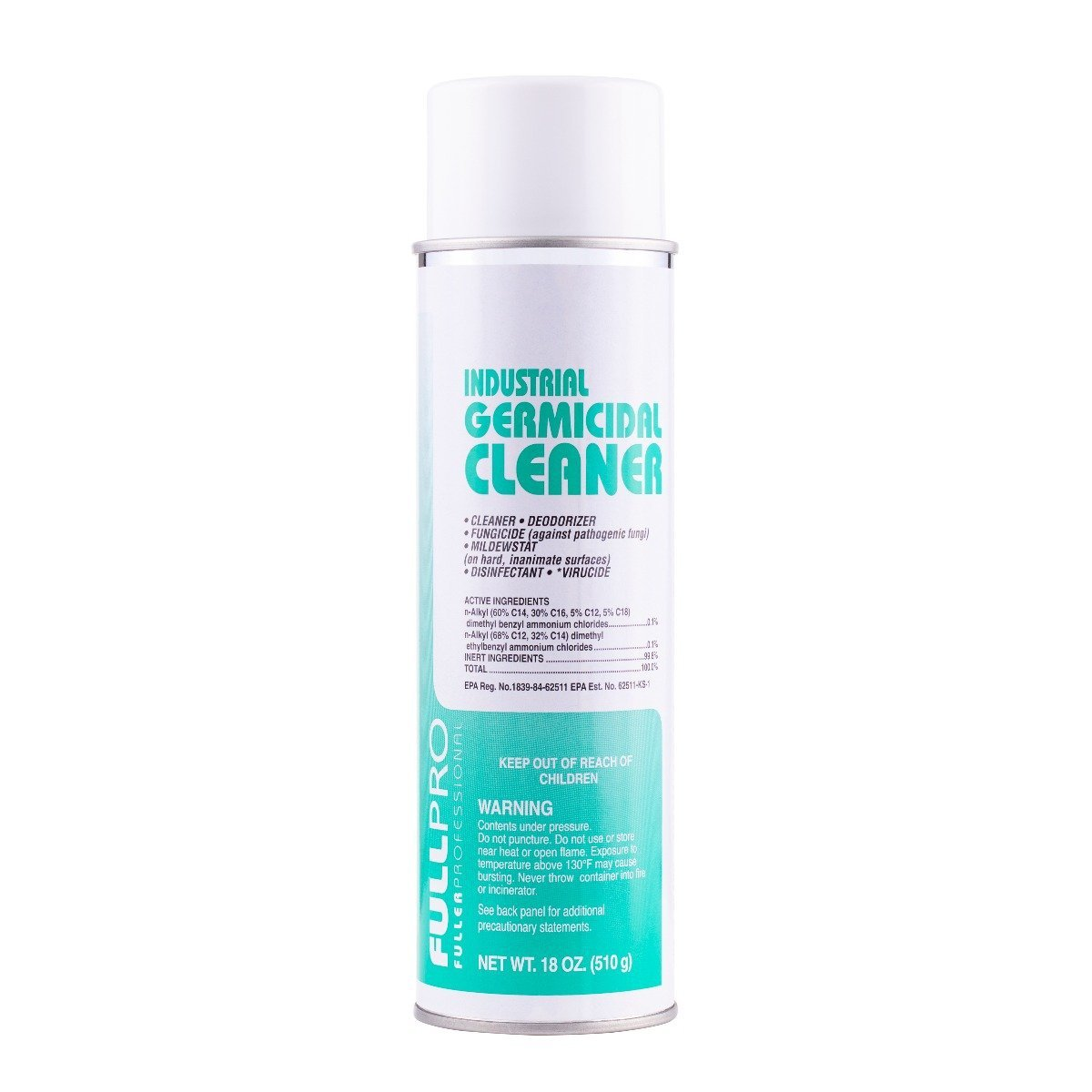 Industrial Germicidal Cleaner - Cleans deodorizes and Disinfects 16 oz can-Cleaning Agents-Fuller Brush Company