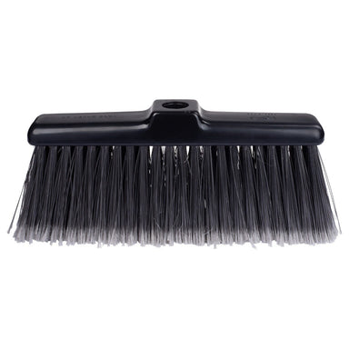 Kitchen Broom Head Black Lightweight Compact. Picks up Finest particles of Dust-Brooms-Fuller Brush Company