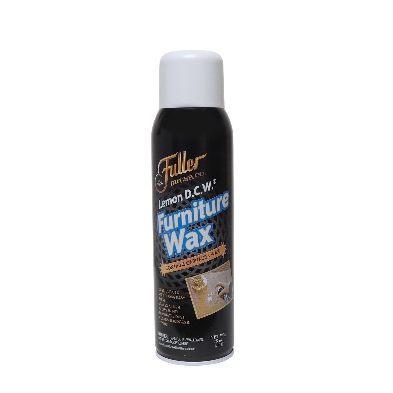 Lemon DCW Furniture Wax - Multi Surface Polishing Spray Cleaner-Cleaning Agents-Fuller Brush Company