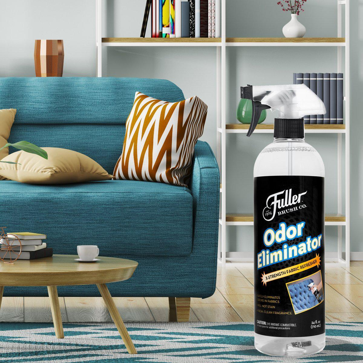 Odor Eliminator with Sprayer Fabric Refresher Spray For all Fabrics 24 oz.-Cleaning Agents-Fuller Brush Company