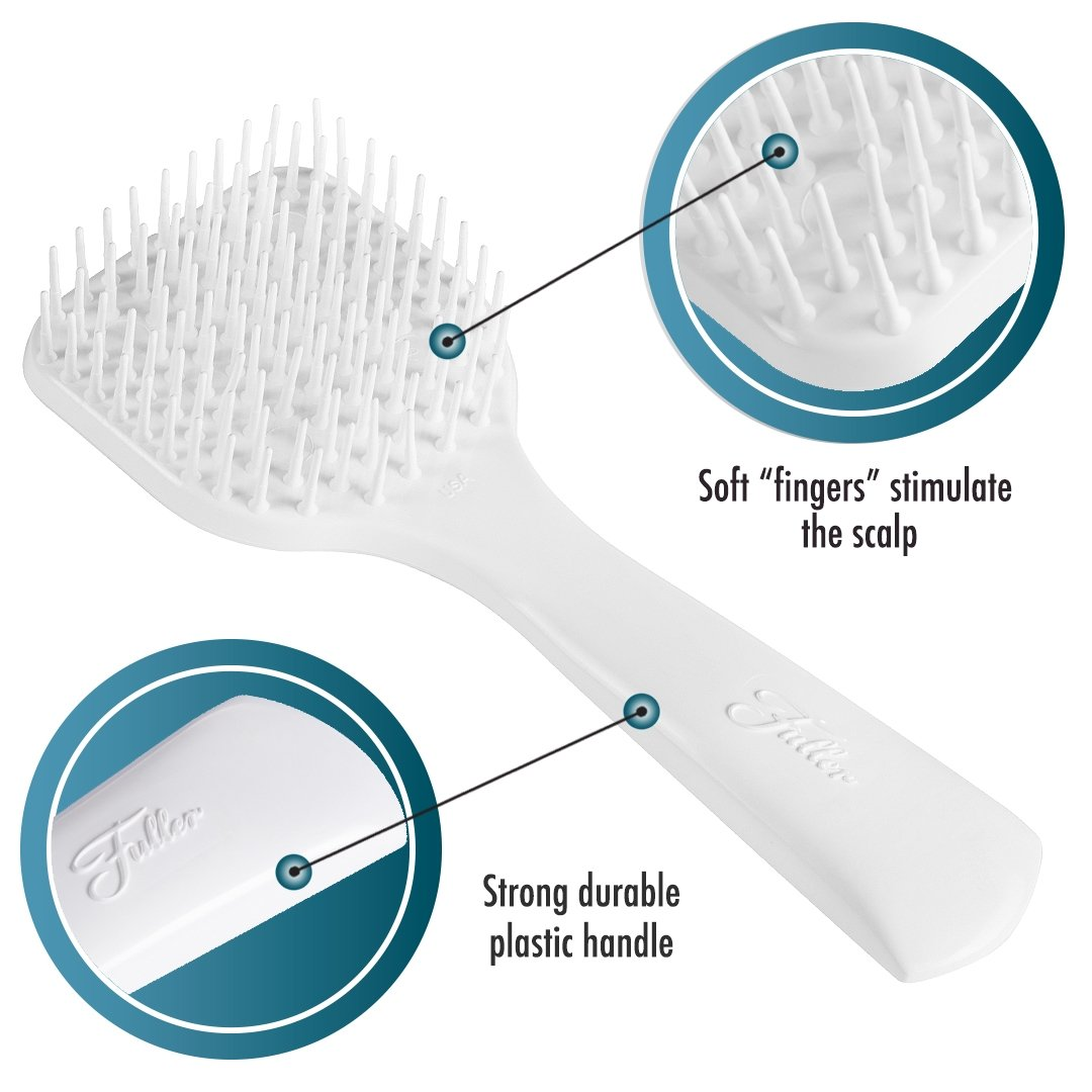 Scalp Massage & Shampoo Brush Manual Head Massage For Rejuvenating Scalps-Hair Brushes-Fuller Brush Company