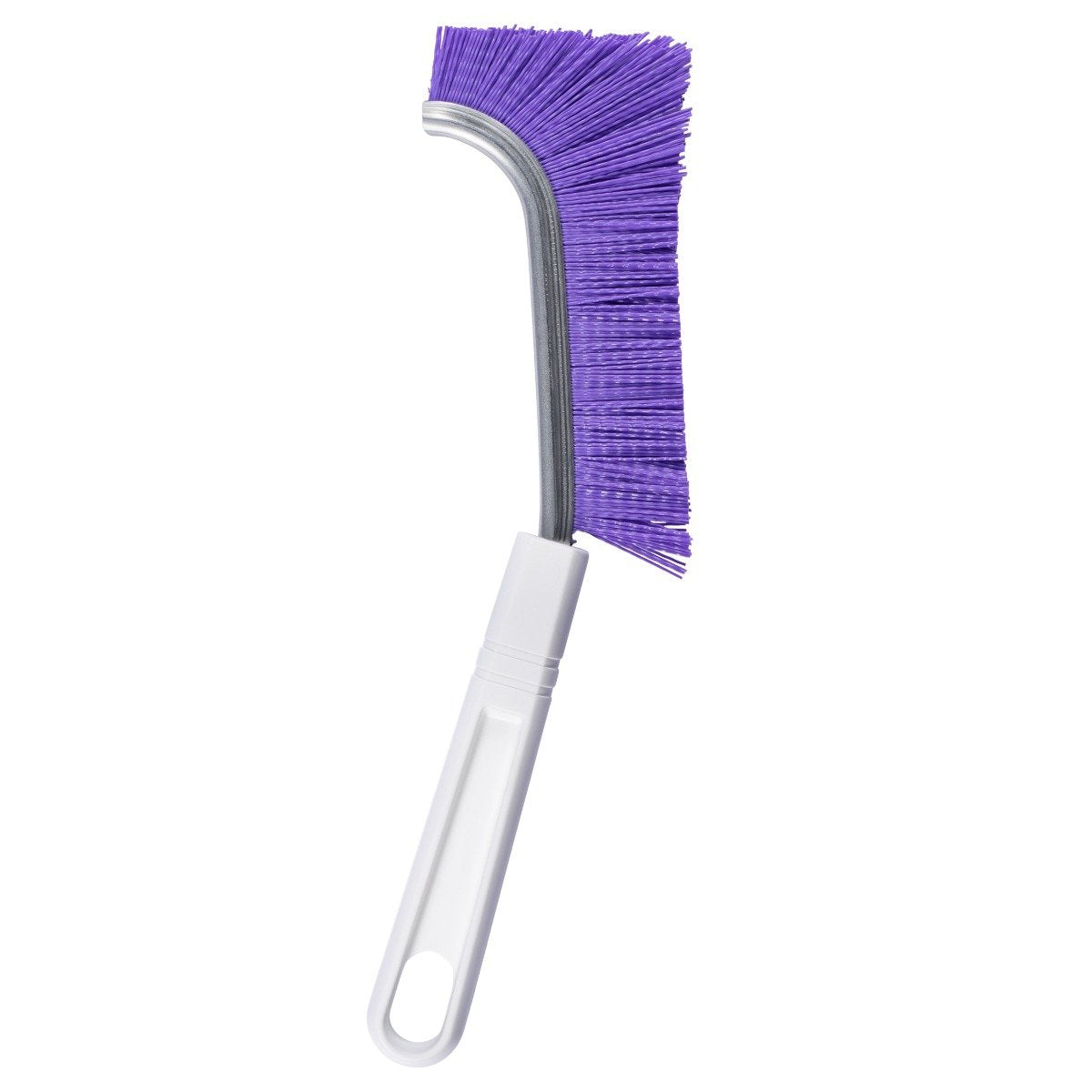 Shower Track And Grout Heavy Duty Scrub Brush w/ Comfort Grip & Stiff Bristles Purple-Cleaning Brushes-Fuller Brush Company
