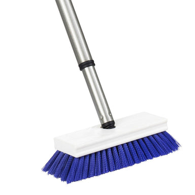 Tub & Shower E-Z Scrubber Heavy Duty Scrub Brush & Telescopic Handle-Cleaning Brushes-Fuller Brush Company