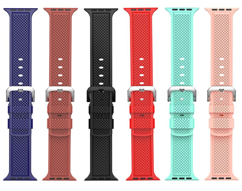 6 Colors Rhombus Strap For Apple Watch Series 1,2,3,4 -  - TomorrowSummer