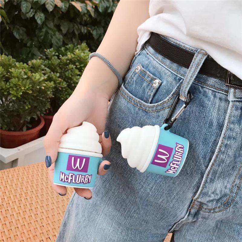 McFLURRY Shaped Airpods Case - Fashion Airpods Cases - TomorrowSummer