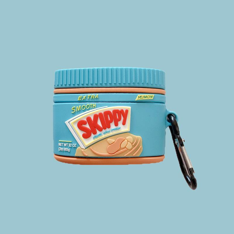 Skippy Peanut Butter Airpods Pro Case - Food Airpods Cases - TomorrowSummer