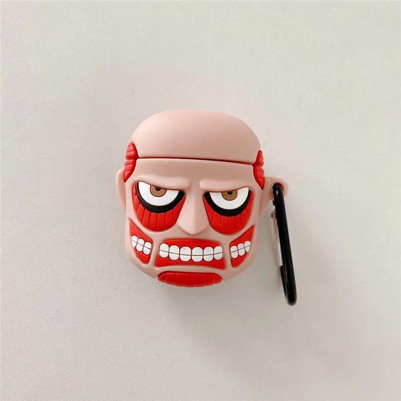 Scary Face Airpods Case - Fashion Airpods Cases - TomorrowSummer