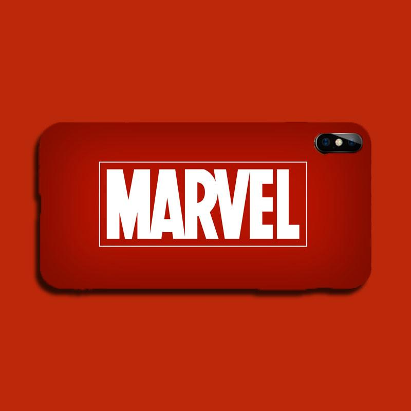 Marvel Logo Lightening LED Flash Voice Music Control iPhone Case -  - TomorrowSummer