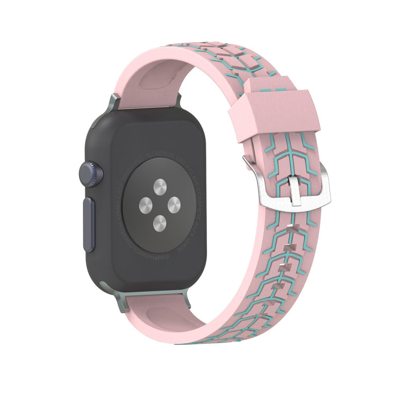 Fish Bone Pattern Strap For Apple Watch Series 1,2,3,4 -  - TomorrowSummer