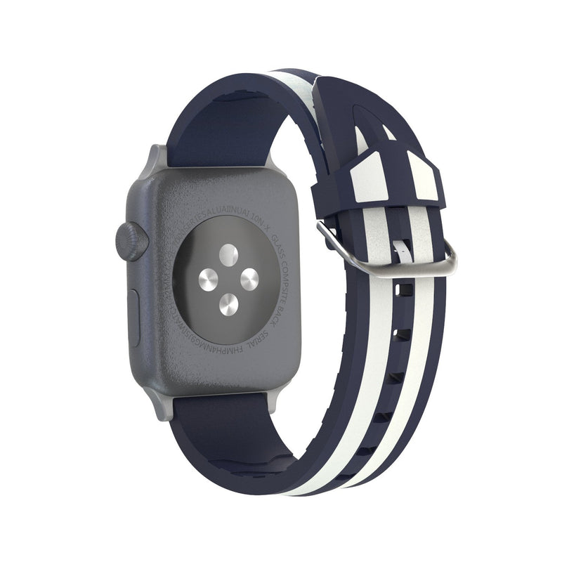 Double Colors Pattern Strap For Apple Watch Series 1,2,3,4 -  - TomorrowSummer