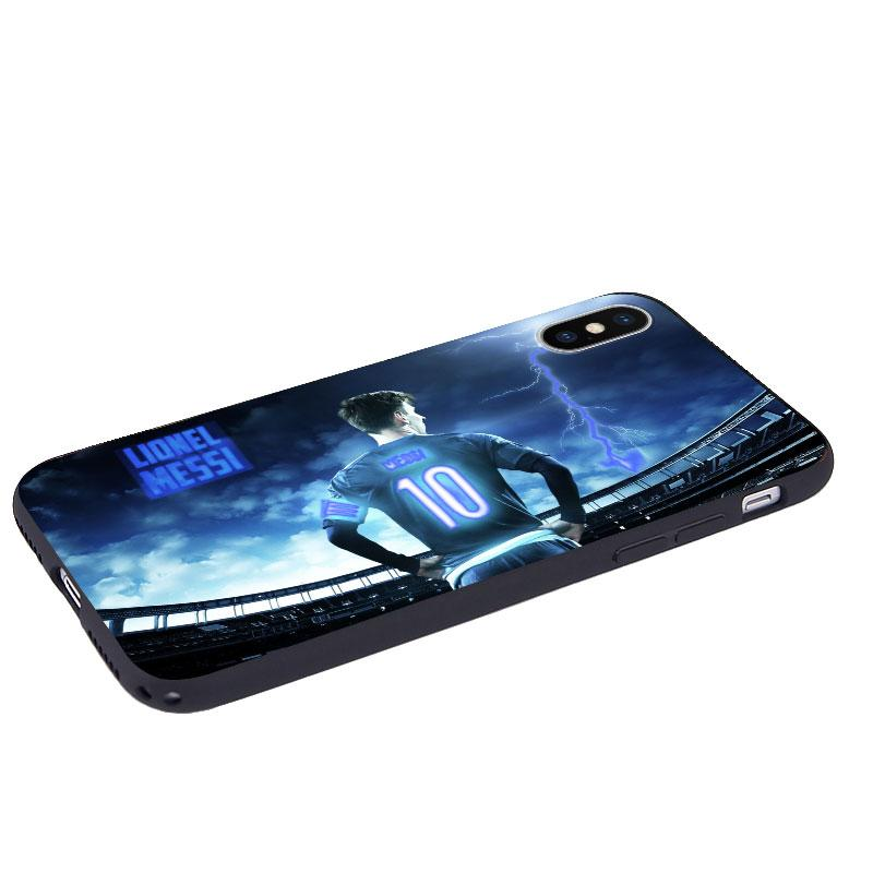 Messi Lightening LED Flash Voice Music Control iPhone Case -  - TomorrowSummer