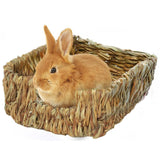 Woven Grass Rabbit Nest