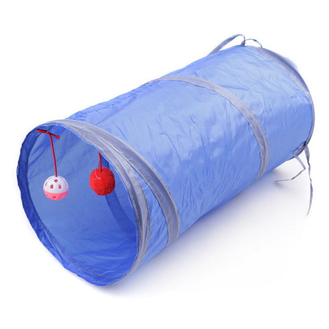 Cat Collapsible Tunnel Play Tubes