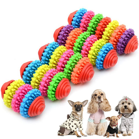 Colorful Rotating Gear Molar Chew Toy