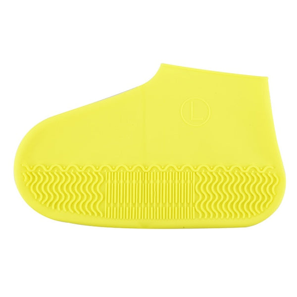 1 Pair Reusable Silicone Shoe Cover S / M / L Dwaterproof Water Rain Shoes Covers Outdoor Camping Non Slip Rubber Rain Boot