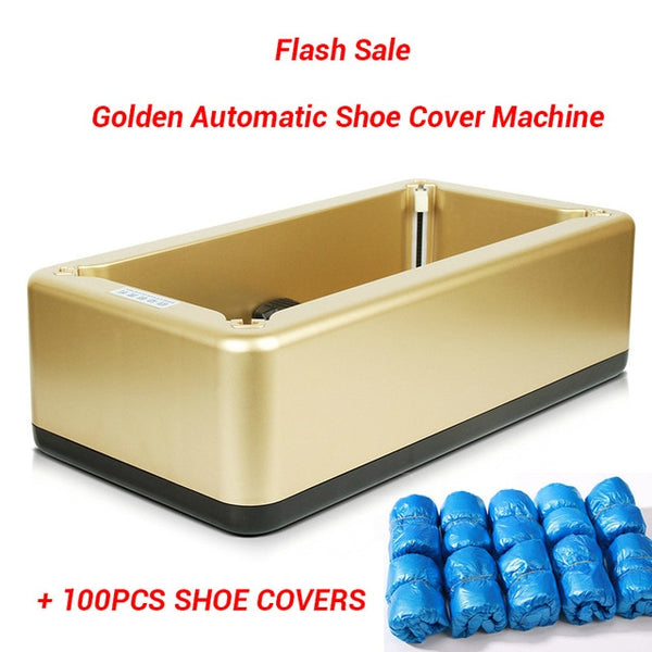 Automatic Shoes Cover Machine Household Stepping Disposable Booties Maker Shoe Film Machine Smart Shoe Cover Dispenser Corona