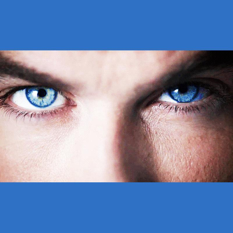 Men's deep sea blue (12 months) contact lenses
