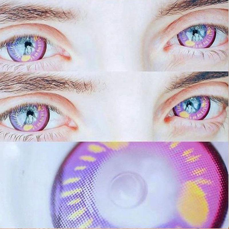 COSPLAY purple contact lenses (12 months) contact lenses