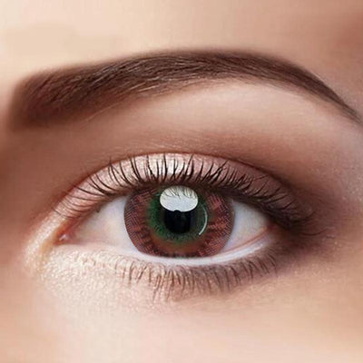 Eye Circle Lens Mocha Brown Colored Contact Lenses