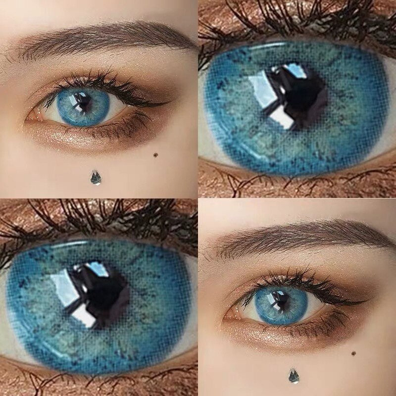 MiamiGirl Taylor DNA Colored Contact Lenses Cosmetic Contacts Natural Lens Overlap Eye Color