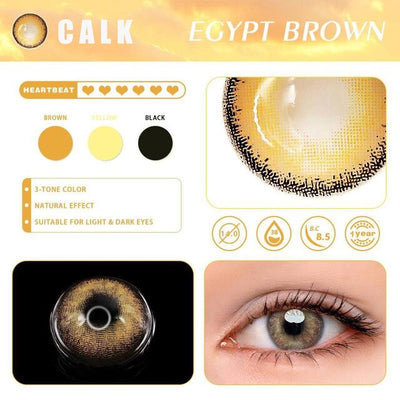 Rx Myopia Minus Colored Contact Lenses Egypt Series Dioptric Eye Prescription Contacts Color Lens Annually Natural looking
