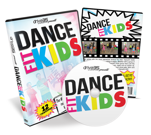 DanceFit KiDS Exercise DVD - Drive35 Music Group  - 1