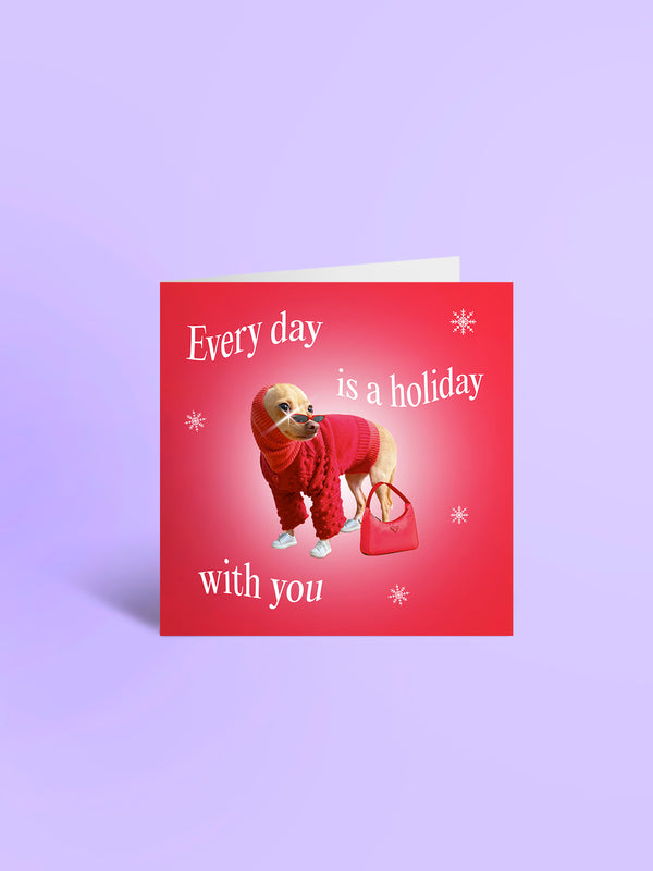 A Card From Boobie