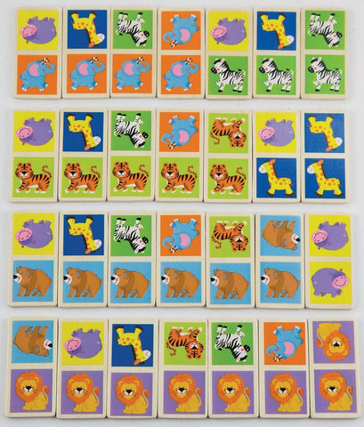 Viga - Domino Wild Animals