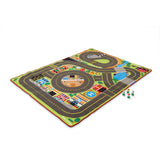 Melissa & Doug - Jumbo Roadway Activity Rug