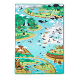 Melissa & Doug - Jumbo Habitats Activity Rug