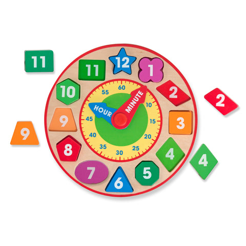Melissa & Doug - Shape Sorting Clock