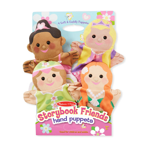 Melissa & Doug - Marionnettes à main Friends
