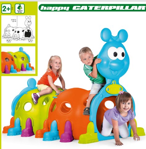 ECR4KIDS - Happy Caterpillar climb and crawl